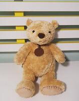SPENCER MARKS & SPENCER BEAR SOFT TOY PLUSH TOY TEDDY BEAR 24CM TALL!