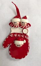 Personalised Christmas Ornaments-family Of 3,4 Or 5