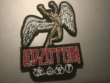 """Led Zeppelin Band Patch Rock Music Embroidered Iron On Applique 3""""x2.25"""""""