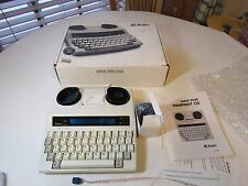 Miniprint 225 Ultratec text telephone print NOS hearing impaired TTY Deaf phone