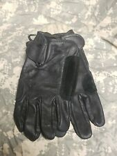 U.S MILITARY Mens & Womens Light Duty Utility LEATHER GLOVES Sz Medium Unwrapped
