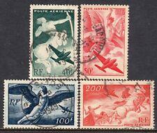 5012 - France 1946 - Plane - Zeus - Kentaur - Apollo - Used Set - Mi:748-751