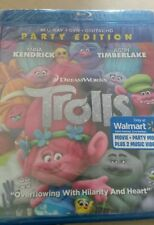 TROLLS  NS Blue Ray, DVD, Digital HD