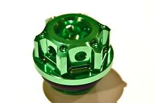 OIL FILLER CAP CNC GREEN TRIUMPH Street Triple 675 RX 765RS Tiger 1050 800