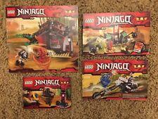 Lego Ninjago 2508 2259 2254 2516 Manual Instructions Only Lot #2