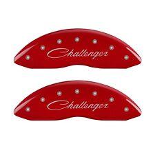 MGP Caliper Covers 12162SCLSRD MGP Disc Brake Caliper Cover Fits Challenger