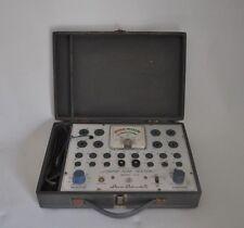 Vintage Superior Instruments Rapid Tube Tester Model 82A Manual Case