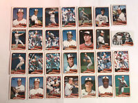1989 BALTIMORE ORIOLES Topps COMPLETE Baseball Team Set 28 Cards RIPKEN MURRAY!