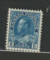 CANADA #111  Admiral VFNH dark blue
