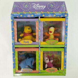 Disney Winnie the Pooh Plush Toys, Storybooks & Playhouse Gift Set SEALED NEW