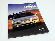 2001 Volvo S40/V40 Sedan Wagon Brochure