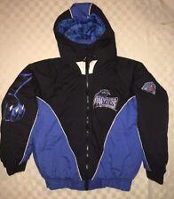 Vtg Pro Player Carolina Panthers Big Logo NFL Men's Jacket Coat M 90's Starter