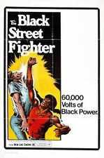 Negro De Street Fighter Poster 01 A2 Caja Lona Impresión
