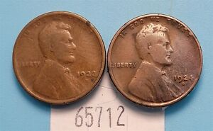 WPCoins ~ 1922-D & 1924-D Lincoln Head Cents