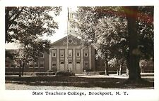 c1950 Real Photo Postcard; State Teachers College, Brockport Ny Monroe Co Posted