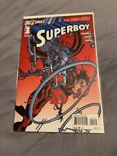 DC The New 52 Superboy 1 Second 2nd Print Variant Awesome!!!!