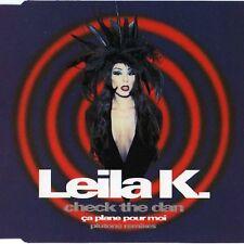 Leila K. Check the dan/Ça plane pour moi (Plutone Remixes, 1993) [Maxi-CD]