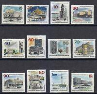 Berlin 1965 MNH Mi 254-265 Sc 9N223-9N234 The New Berlin,buildings **