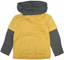 Twofer Cotton Rich Hooded T-Shirt