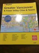 MapArt, Greater Vancouver And Fraser Valley Cities And Towns