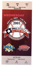 2001 Double A All Star Game Ticket Round Rock