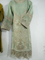 Pakistani Indian Salwar Shalwar Kameez SUIT Bollywood Anarkali Chiffon Asim Jofa