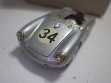 M.D.L. (Italy) Silver Porsche 550RS Spyder Hand-Built Resin 1:43 NIB