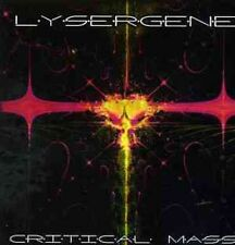 Lysergene - Critical Mass (UK), CD