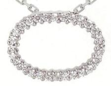Wedding White Gold VVS1 Fine Diamond Necklaces & Pendants