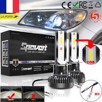 Mini H1 110W COB LED Phare de voiture Ampoule Auto Lampe Headlight Kit 6K Blanc