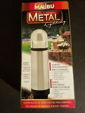 NEW IN BOX MALIBU LIGHT 12V CL635P PEWTER