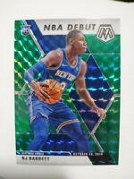 2019-20 Mosaic RJ BARRETT NBA Debut Green Prizm RC New York Knicks Rookie #270