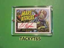 2020 MARS ATTACKS UPRISING ED REPKA ARTIST AUTOGRAPH  UPRISING SAMPLE PACK CARD