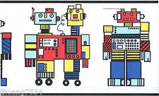 Lego Robot Kid Boy Children Wall paper Border