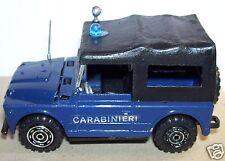 RARE OLD MADE IN ITALY MERCURY FIAT CAMPAGNOLA CARABINIERI REF 31 1975 1/43