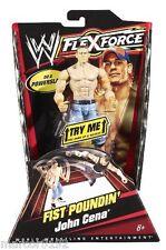 """WWE FLEXFORCE WRESTLING FIGURE FIST POUNDIN' JOHN CENA 7"""" NEW"""