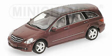 Mercedes Benz R Class 2006 Red Metallic 400034600 1/43 Minichamps