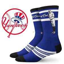 Men's Crew Socks   New York Yankees Socks Babe Ruth NYC   Size Nike Stance 9-13