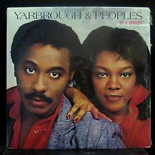 Yarbrough & Peoples - Be A Winner LP Mint- TEL8 5700 Vinyl 1984 Record
