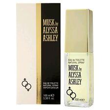 Alyssa Ashley Musk Perfume By Alyssa Ashley 3.4 oz Eau De Toilette Spray NIB