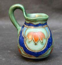 Vintage Dutch Gouda Studio Pottery Hand Painted Jug Holland 206 V2 Essel Design