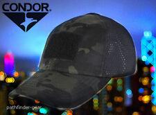 Condor Multicam Black Mesh Tactical Operators cap hat