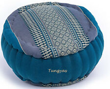 Meditation Cushion Zafu Round  YOGA PILLOW ORGANIC KAPOK 100% FILLED Home Decor
