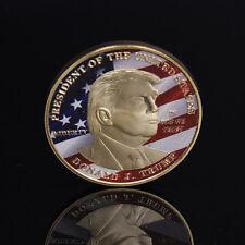 1X USA Präsident Donald Trump, Gedenkmünze^