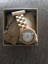 Handmade Holzwerk Germany Nurses Watch Pocket Watch