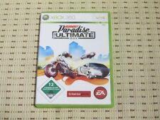 Burnout Paradise the Ultimate box para Xbox 360 xbox360 * embalaje original *