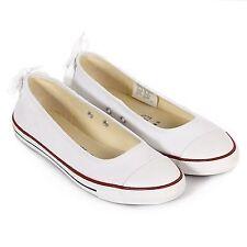 Ballerinas Schuhe aus Canvas für Damen