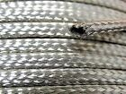 """Tubular Braided Shield Tinned Copper Wire 1/4"""" Wide Ground Strap USA 15' FT"""