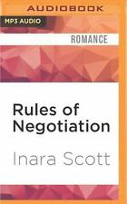 Bencher Family: Rules of Negotiation by Inara Scott (2016, MP3 CD, Unabridged)