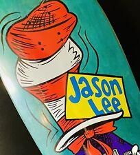 Skateboard Deck Jason Lee Cat In the Hat Folklore Project NOS Blind Prime PINK
